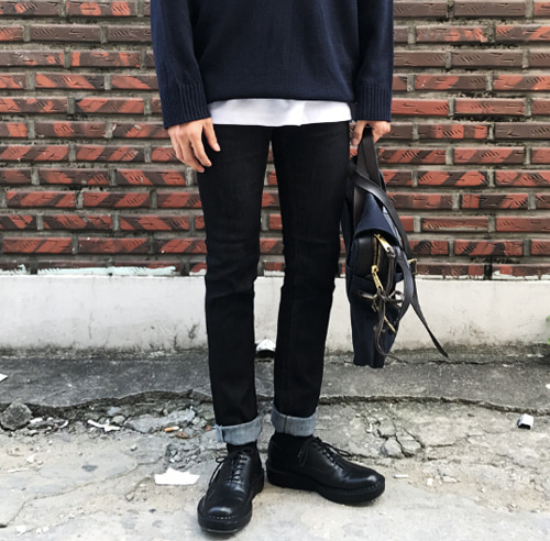 BASIC RAW SLIM JEAN