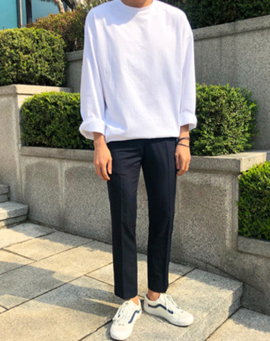 OVER MUJI LONG TEE (5 COLOR)