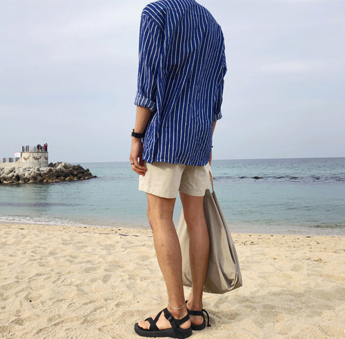 SUMMER STRIPE SEA SHIRT (2 COLOR)