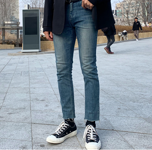 19 dio washed cutting 10b jean (당일출고!)