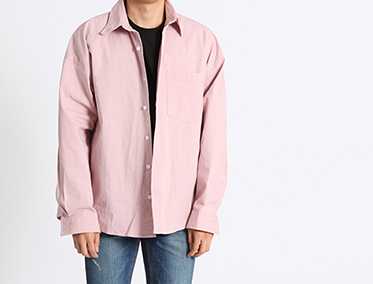 S+ OVER COTTON SHIRT (5 COLOR)