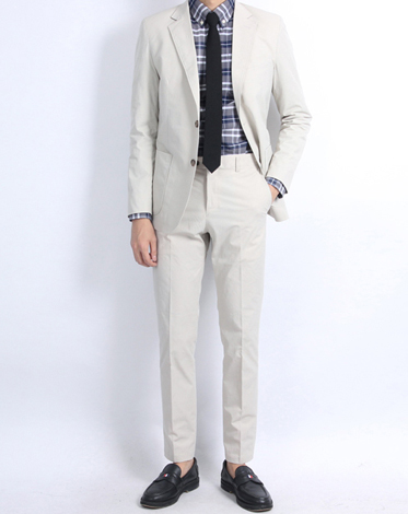 G.C daisy cotton suit (ivory)