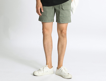 092 WASHED SHORTS (5 COLOR)