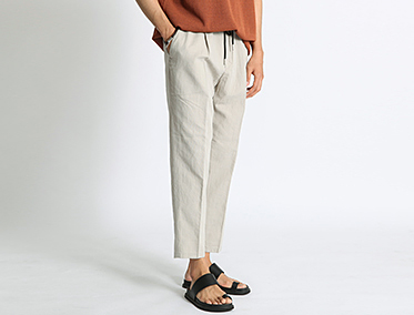 LINEN OVER SLACKS (3 COLOR)