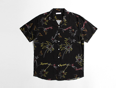 TREE OPEN SHIRT (3 COLOR)