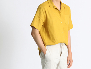 OPEN KARA YELLOW SHIRT (3 COLOR)