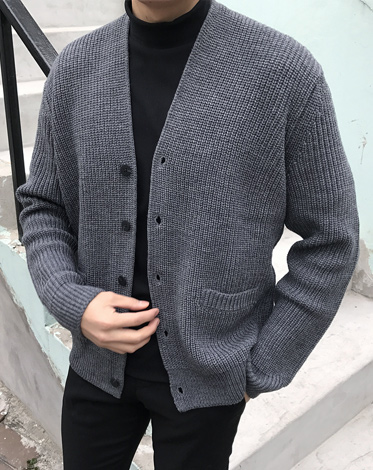 PHILLIP L CARDIGAN (4COLOR)
