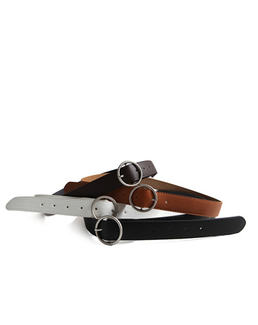 CIRCLE RING BELT (4 COLOR)