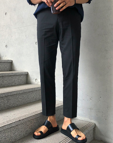 LINEN BANDING SLACKS (5 COLOR)
