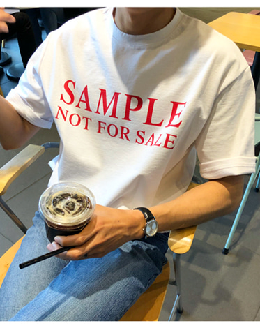 SAMPLE 1/2 TEE (2 COLOR)