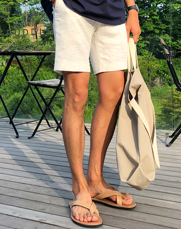 TEN LINEN SHORTS (5 COLOR)